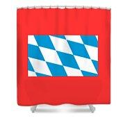Bavaria Flag Shower Curtain
