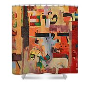 Be A Good Friend To Those Who Fear G-d Shower Curtain