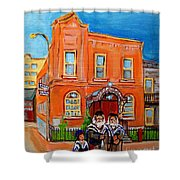 Beautiful Synagogue On Bagg Street Shower Curtain
