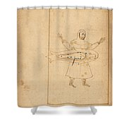 Book Of The Images Of The Fixed Stars Shower Curtain