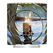Cape Blanco Light Shower Curtain