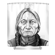 Chief Sitting Bull Shower Curtain
