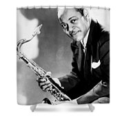 Coleman Hawkins  Shower Curtain