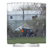 Country Ride  Shower Curtain