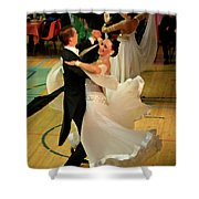 Dance Contest Nr 08 Shower Curtain