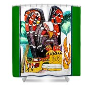 Eagle Has Landed Shower Curtain