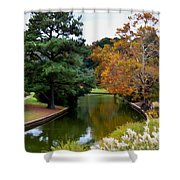 East Canal Shower Curtain