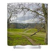 East Ridge Trail Spring Shower Curtain
