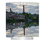 Exeter New Hampshire Usa Shower Curtain