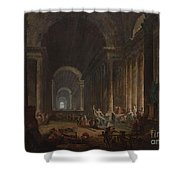 Finding Of The Laocoon Shower Curtain