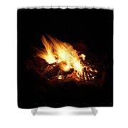 Fire 2 Shower Curtain