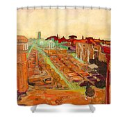 Foro Romano Shower Curtain