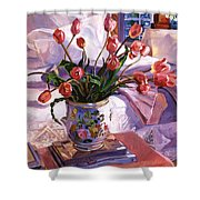Fresh Tulips Shower Curtain