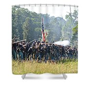 Gettysburg Union Infantry 9372c Shower Curtain