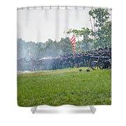 Gettysburg Union Infantry 9968c Shower Curtain