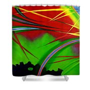 Great Expectations 1.0 Shower Curtain