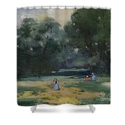 Haymakers Gotha Germany Shower Curtain