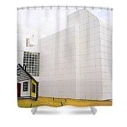 High Museum Of Art - Atlanta - Usa Shower Curtain