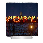 Holiday World 4 Shower Curtain