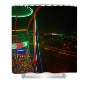 Holiday World 5 Shower Curtain