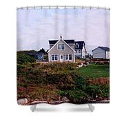 House Shower Curtain