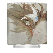 I Can Fly In My Dreams Shower Curtain