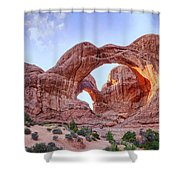 I Stand At Your Gate Shower Curtain