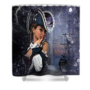 I Will Be Your Lighthouse Shower Curtain