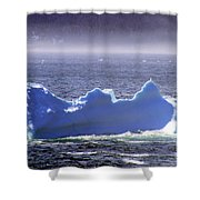 Iceberg Floating By Shower Curtain