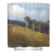 In The Crimean Mountains   Shower Curtain