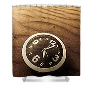 In Waves Of Lost Time Shower Curtain