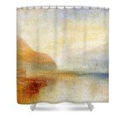 Inverary Pier - Loch Fyne - Morning Shower Curtain