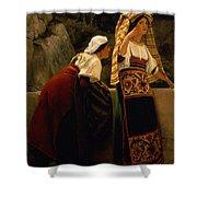 Italian Women From Abruzzo  Shower Curtain