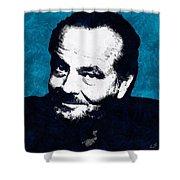 Jack Nicholson Shower Curtain