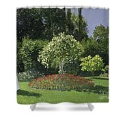 Jeanne Marie Lecadre In The Garden Shower Curtain