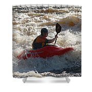 Kayak 3 Shower Curtain