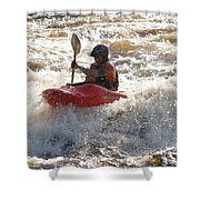 Kayak 4 Shower Curtain