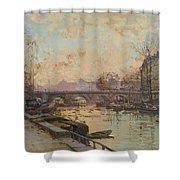 La Seine Shower Curtain