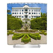 Lake Como,villa Carlotta, Italy Shower Curtain