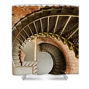 Lighthouse Stairs Cape Blanco Oregon 1 Shower Curtain