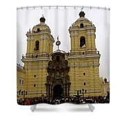 Lima Peru Church Shower Curtain