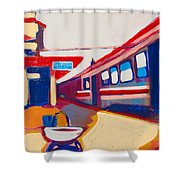 Locale Shower Curtain