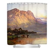 Loch Lomond And A Trout Stream Shower Curtain