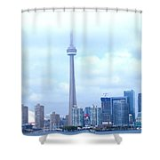Lost In The Clouds Shower Curtain