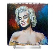 M. Monroe Shower Curtain