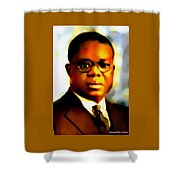 Marcus Garvey Shower Curtain