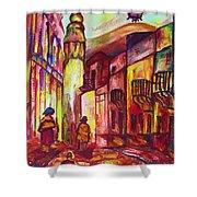 Montmartre  Shower Curtain
