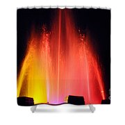 Mulholland Fountain Shower Curtain