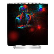 Kenny Garrett 5tet, Music Instrument Trumpet Sax Trombon  Shower Curtain