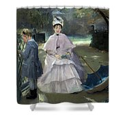 Nanny And Child Shower Curtain